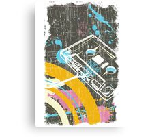 Retro Tape Canvas Print