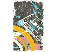Retro Tape Photographic Print