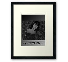 blu. Framed Print