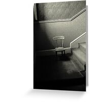 Chair on the Stair Greeting Card