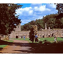 Fountains Abbey1 Photographic Print