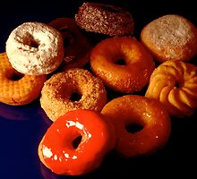 Donuts or doughnuts! by Daniel Sorine