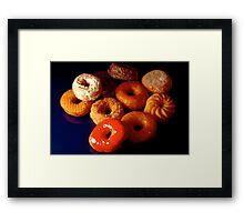 Donuts or doughnuts! Framed Print
