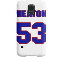 National baseball player Neal Heaton jersey 53 Samsung Galaxy Case/Skin