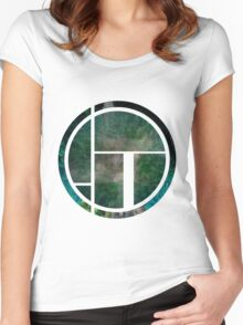 Green Circle Women's Fitted Scoop T-Shirt
