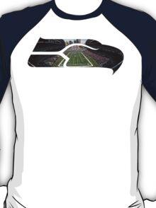 Seattle Seahawks CenturyLink Field Color T-Shirt