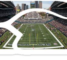 Seattle Seahawks CenturyLink Field Color Sticker