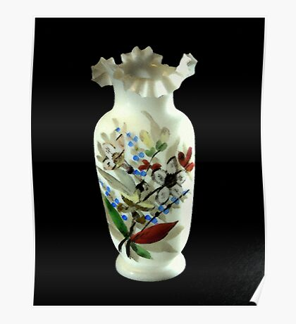 Vase Painting Poster