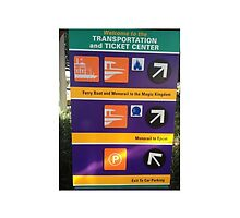 Disney TTC sign for monorails by JakeyJurin