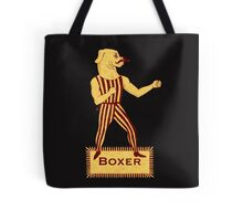 Boxer Dog Bonzo Bones Tote Bag