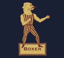 Boxer Dog Bonzo Bones by SusanSanford