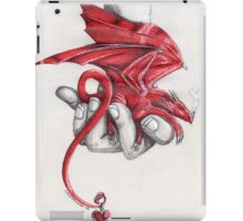Red dragon's lullaby iPad Case/Skin