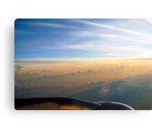 Sunrise at 33,000 Feet Canvas Print