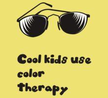 Cool kids use color therapy Baby Tee