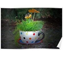 Garden Tea Party Poster