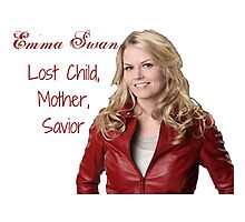 OUAT - Emma Swan Photographic Print