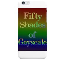 Fifty Shades of Gayscale iPhone Case/Skin