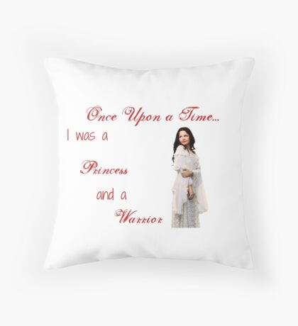 Ounce Upon a Time - Snow White Throw Pillow
