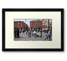 Place Masséna  Framed Print