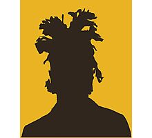 The Weeknd silhouette  Photographic Print