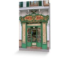 Fondres Teatro, Palma de mallorca Greeting Card