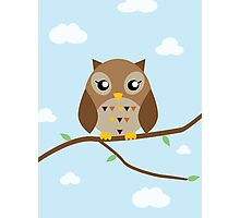 Cute Owl Photographic Print
