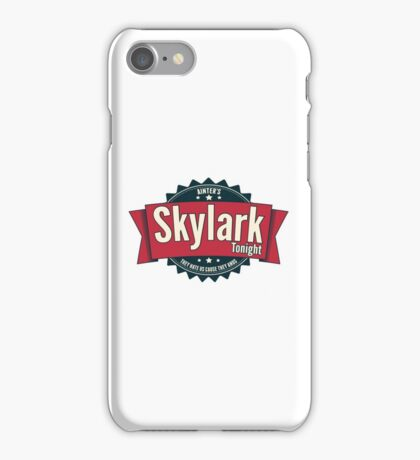 Skylark Tonight Ainter's iPhone Case/Skin
