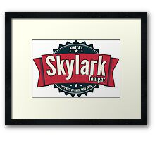 Skylark Tonight Ainter's Framed Print