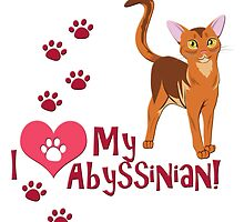 I Love My Abyssinian! by thekohakudragon