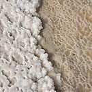 Texture from the dead sea. by dominiquelandau