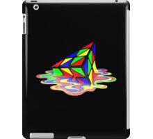 Melting Pyraminx cude iPad Case/Skin