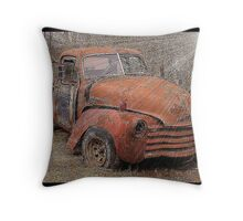 Journey To Truck Heaven Throw Pillow