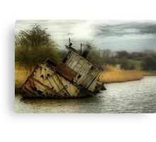 MV CHICA 's final resting place Metal Print