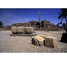 Karnak Temple Egypt Photographic Print