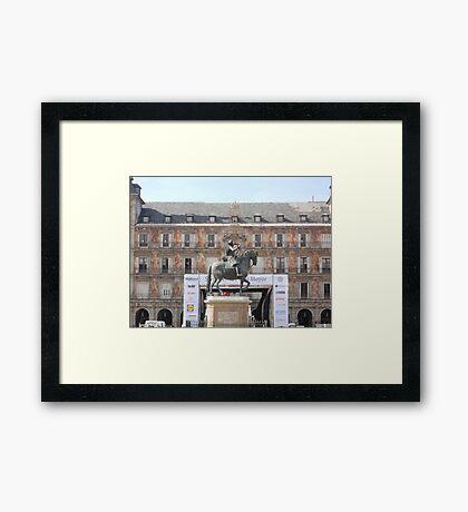 Plaza Major Framed Print
