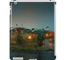 Rain Drops on a Window iPad Case/Skin