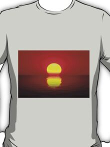 Egg Yolk Sunset T-Shirt