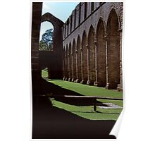 Once the Nave, Fountains Abbey Poster