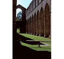Once the Nave, Fountains Abbey Photographic Print