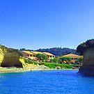 Corfu Coast by Tom Gomez