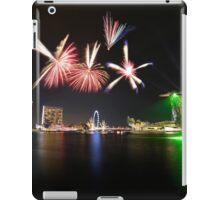 Fireworks over Marina Bay iPad Case/Skin