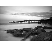 Catherine Hill Bay Clouds Photographic Print