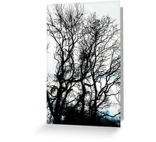 leave me at the tree Greeting Card