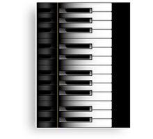 Piano - 2 Octaves Canvas Print