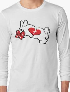 Minnie broken heart Long Sleeve T-Shirt