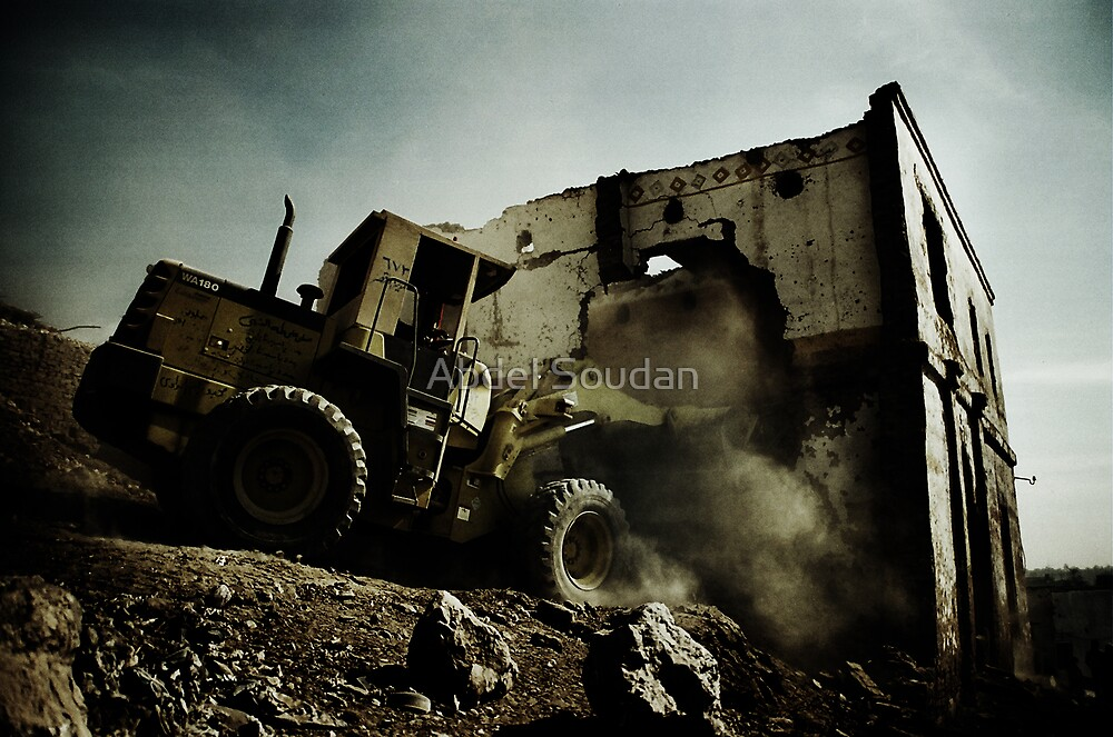 Destruction by Abdel Soudan