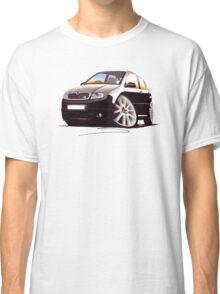 Skoda Fabia vRS Black Classic T-Shirt