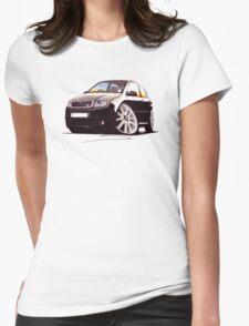 Skoda Fabia vRS Black Womens Fitted T-Shirt