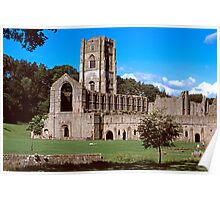 Fountains Abbey 10 Poster