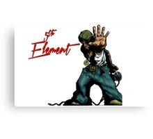 DJ FX 5th Element Canvas Print